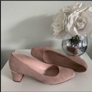 Kate Spade Dolores Too Fawn/Blush heels